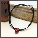 CLASSICAL RED Elegance Design Red Ball Necklace