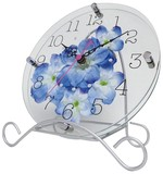 Art Flower Clock Unisex Ranunculus