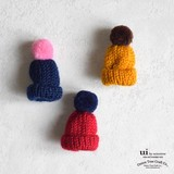 Brooch Knitted Hat