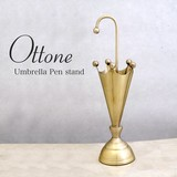 Pen Holder Umbrella Brass