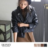 2017 A/W Leather Motorcycle Leather Jacket Light Outerwear
