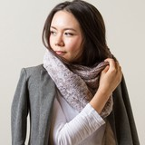Fluffy Fur Knitted Combi Snood