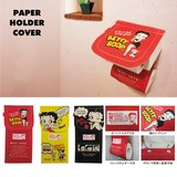 BETTY BOOP TOILET HOLDER COVER(トイレペーパーカバー)