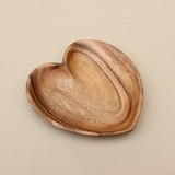 WOOD TRAY HEART