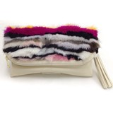 Mink Fur Clutch Bag