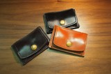 《SALE》Leather Card & Coin Case