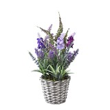 DECOR IMITATION LAVENDER IN BASKET