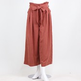 2018 A/W Suede Gaucho Pants