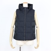 2018 A/W With Hood Removal Down Vest