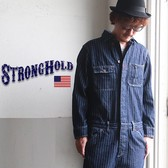 Stripe Denim All-in-one