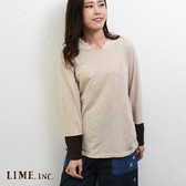 2018 A/W Long Sleeve T-shirt Wrap Lace Switching