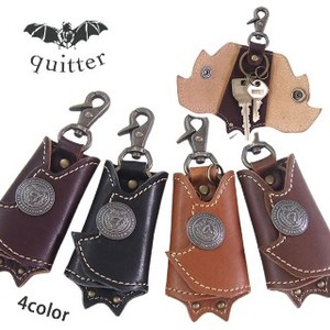 Bat 4 Colors Leather Bat Key Ring