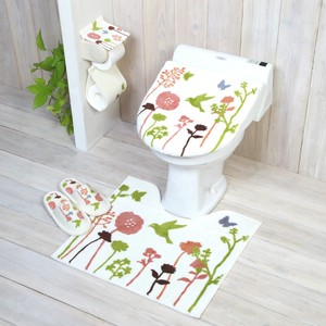 Bird Toilet Kitchen Mat