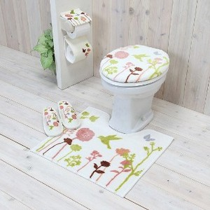 Set Bird Toilet Kitchen Mat