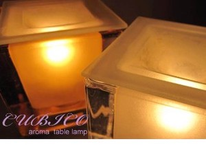 Lighting Table Light Aroma Lamp Clear Amber