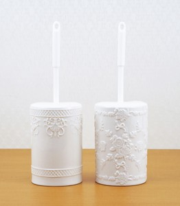 Toilet Brush 2 type Romanesque Rose Ribbon