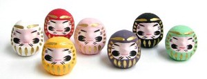 Good Luck Feng Shui Daruma Pink Japan Miscellaneous goods Interior Accessory