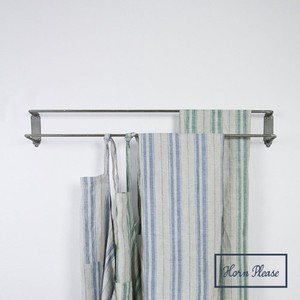 Iron Double Clothes Hanger Curtain