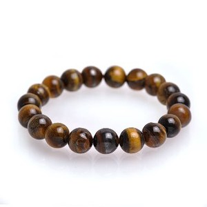 Natural stone Yellow Tiger's Eye Bracelet Power Stone