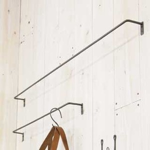 Point Reduction Backordered Iron Clothes Hanger Display