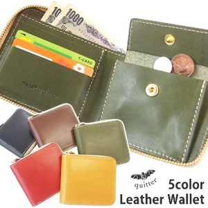 Tochigi Leather Round Leather Ford Wallet Maid Japan