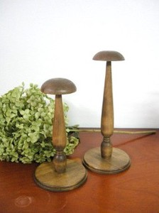 Wooden Wood Hat Stand Natural Miscellaneous goods