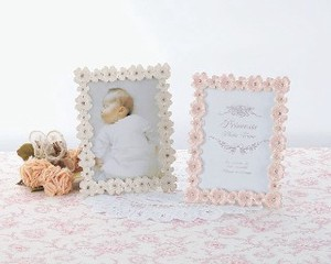 Romantic Photography Stand Up Plan Photo Frame Flower Pink Princess