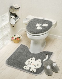 Cat Series Toilet Mat Cover