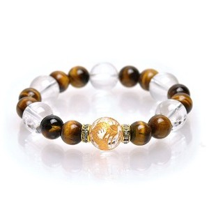 Crystal Tiger's Eye Bracelet