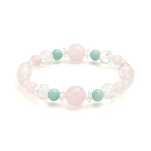 Natural stone Quartz Rack Crystal Bracelet Birthstone Wreath Tile