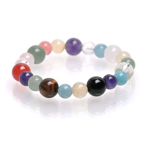 Natural stone Rainbow Color Stone Bracelet Birthstone Wrist
