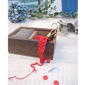 Wood Sewing Box Fancy Goods