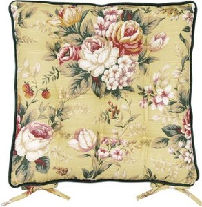 Yellow Sheet Cushion Rose