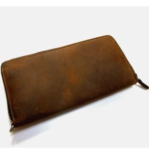【ヌバックレザー使用!】 USA NUBUCK LEATHER Long Wallet