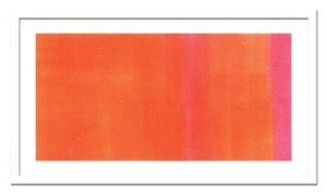 インテリアアート/St?hli, Susanne/Orange-Magenta, 2005
