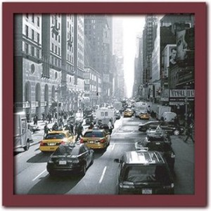 Art Collection/Sunset on Broadway  New York