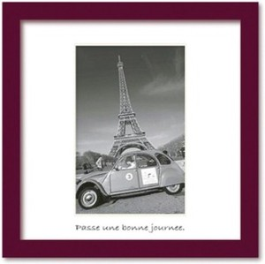 Art Collection mini/2CV with Eiffel Tower