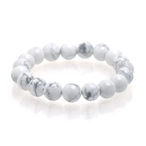Natural stone White howlite Bracelet Beautiful Skin Effect