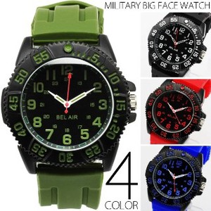Military Series Military Big Face Wrist Watch Warranty Card