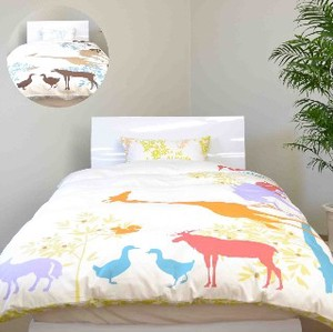 Life Giraffe Bedspread Cover Mattress Cover Pillow Case Box Sheet
