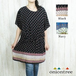 Tunic One-piece Dress Scandinavia Natural Ethnic