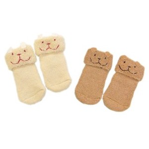 Organic Cotton Organic Pile Baby Socks Baby Kids
