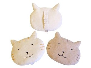 Organic Cat Pillow Baby Kids