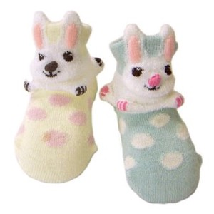Plastic Rabbit Dot Pop Socks