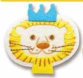 Iron Adhesion PETIDEPOME Felt Patch LION