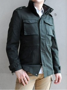 S/S Field Jacket Men's Switch Stand Military Blouson