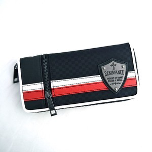Push Mesh 2 Pcs Line Switch Color Scheme Long Wallet Wallet
