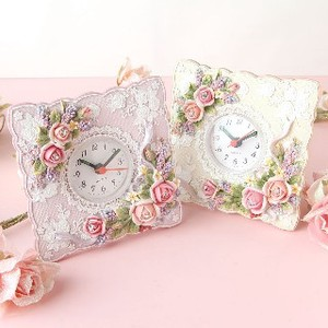 Rose Clock Pink Beige