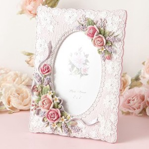 Rose Photo Frame Pink