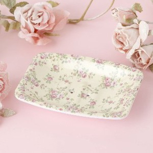 Soap Dish Gray Rose